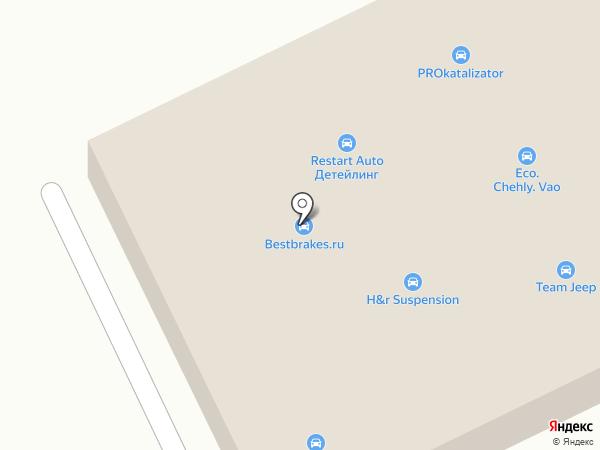 Equipcar.ru на карте Москвы