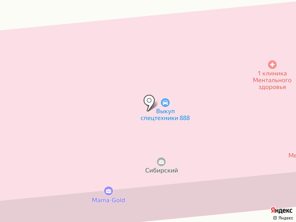 МЕГАФЛЕКС на карте Москвы