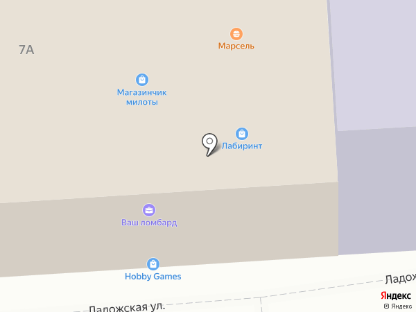 Hitop на карте Москвы