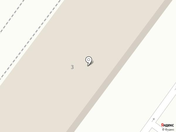 Абаноспа на карте Москвы