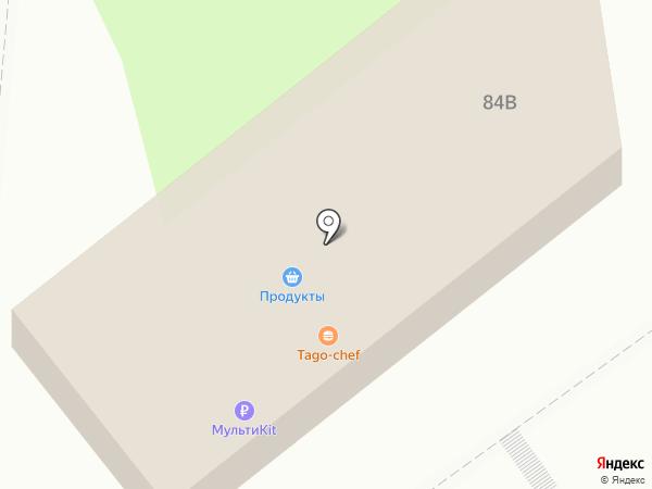 Хмельной дворик на карте Тулы