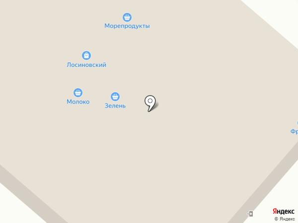 Магазин одежды на карте Москвы