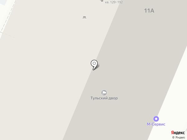 Алексей на карте Тулы