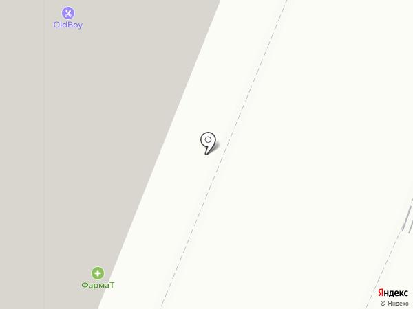 Колесо-трио на карте Москвы