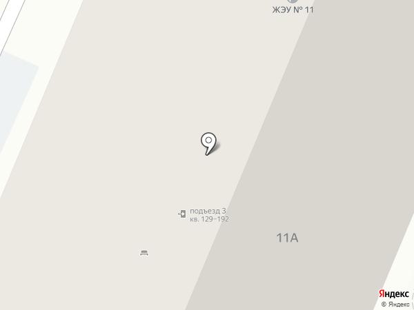 Белый парус на карте Тулы