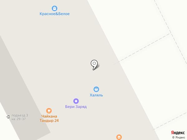 Халяль на карте Москвы