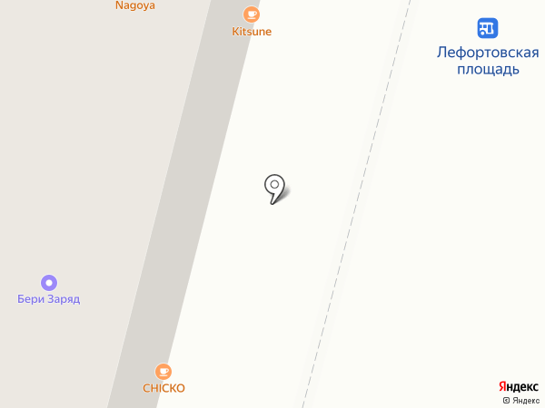 Зачетная на карте Москвы