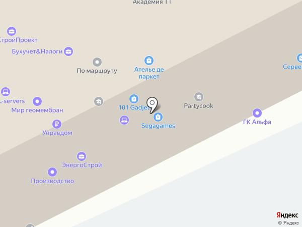 Трансмегаполис на карте Москвы