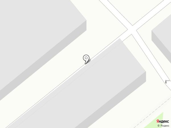 Гаражно-потребительский кооператив №8 на карте Тулы