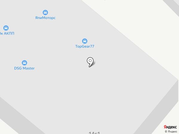 Автофорвард на карте Москвы
