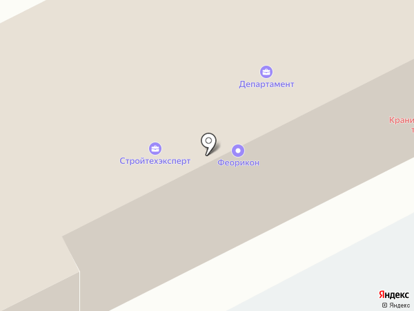 Кубки-Олимп на карте Москвы