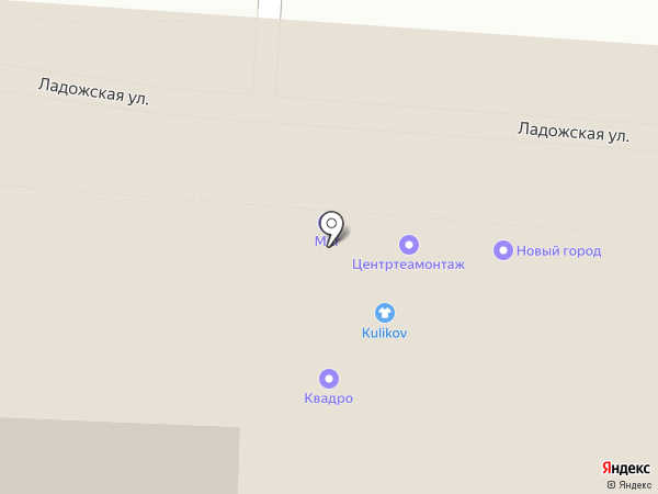 Миг на карте Москвы