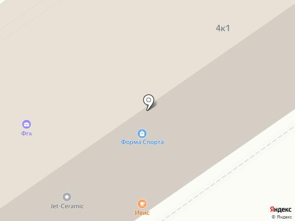 Мосфундаментстройинвест, ЗАО на карте Москвы