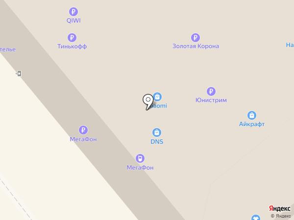 Айкрафт на карте Тулы