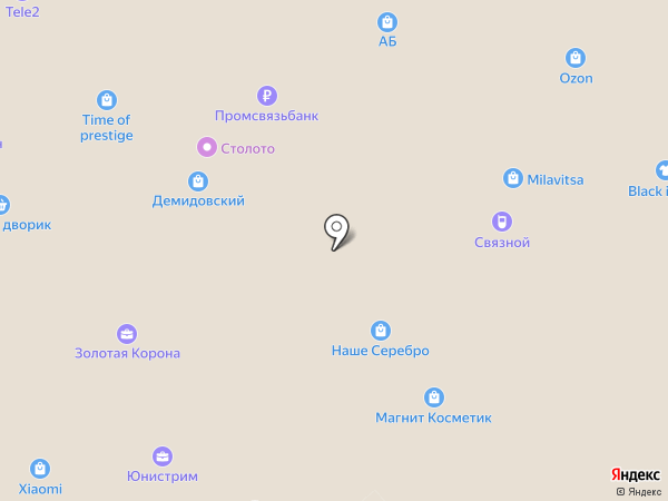 Связной на карте Тулы