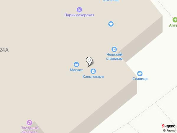 Пять Родников на карте Тулы