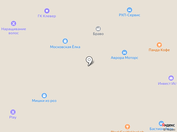 Ля Фантази на карте Москвы
