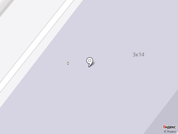 Медицинский колледж №2 на карте Москвы