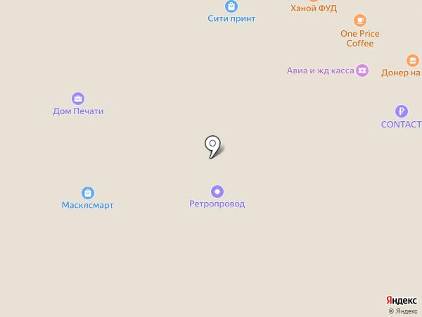 Refit-car на карте Москвы