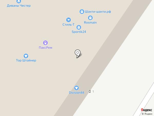 Дело на карте Москвы