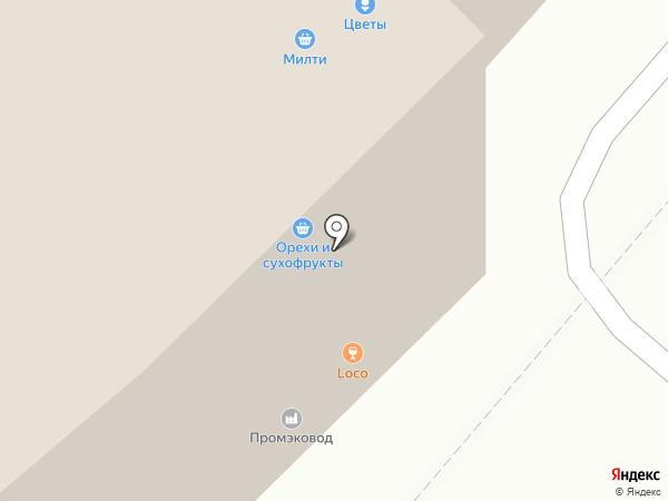 Ангел на карте Москвы