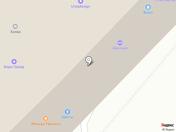 А+А на карте Москвы