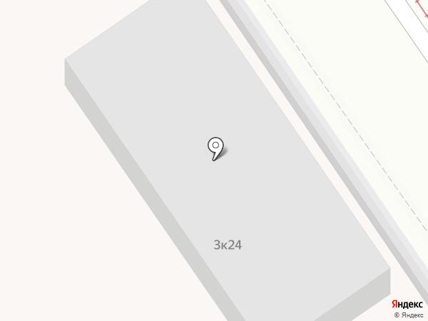 Туберкулезная больница на карте Москвы