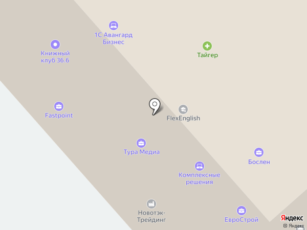 ИРЭН на карте Москвы