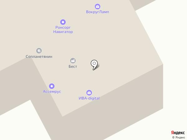 ПромГражданПроект на карте Москвы