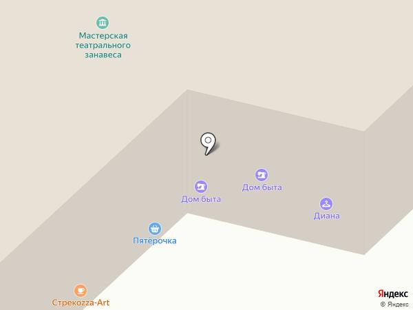 Пекарня на карте Москвы