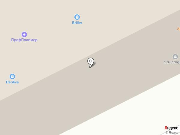 ЛАМЕС на карте Москвы
