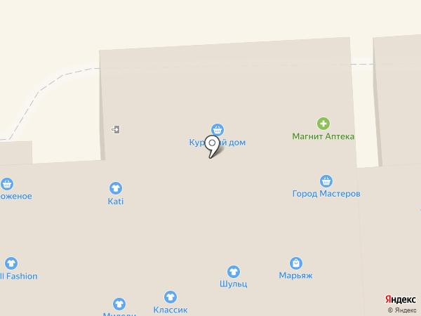 Магазин верхней одежды для женщин на карте Тулы