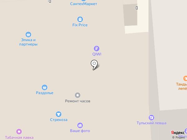 Milana на карте Тулы