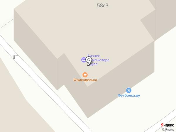 Ваш ИТ Офис на карте Москвы
