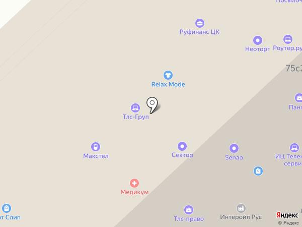 Duker на карте Москвы
