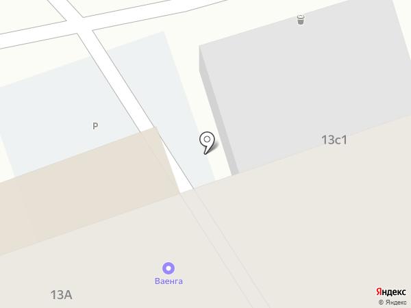 Ваенга на карте Москвы