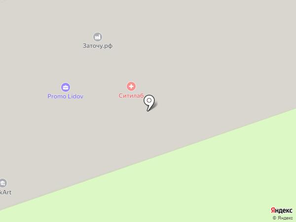 Центр занятости населения Восточного административного округа на карте Москвы