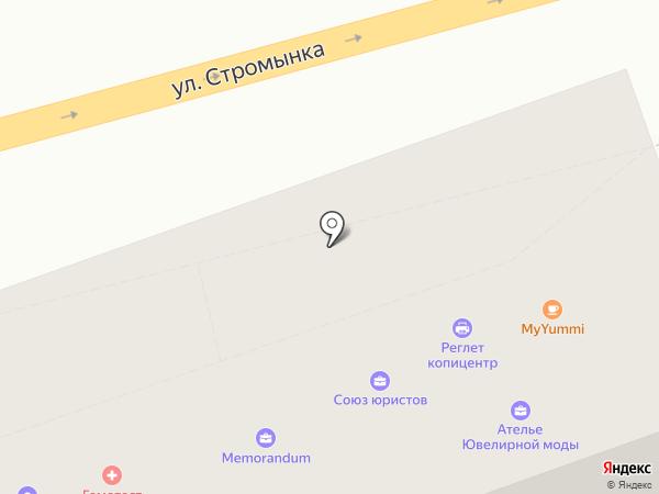 Мифта на карте Москвы