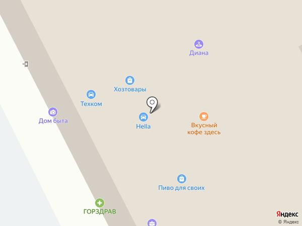 РСТК-Логистик на карте Москвы