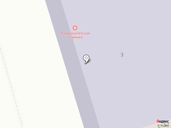Поликлиника РГСУ на карте Москвы