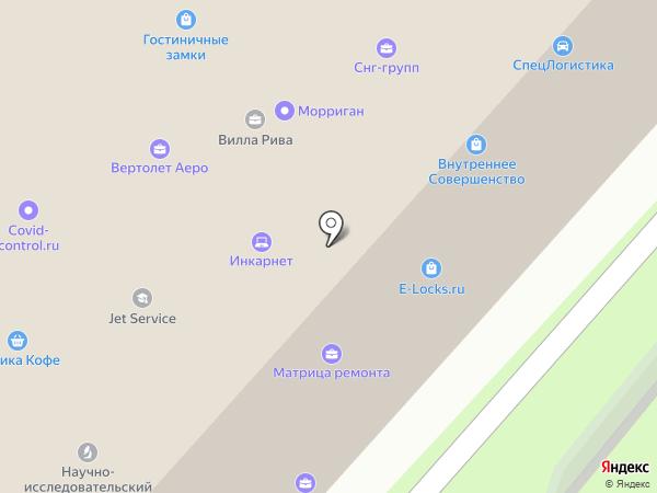 Респект на карте Москвы