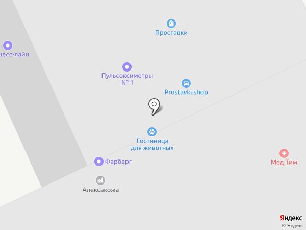 ТВЕМА на карте Москвы