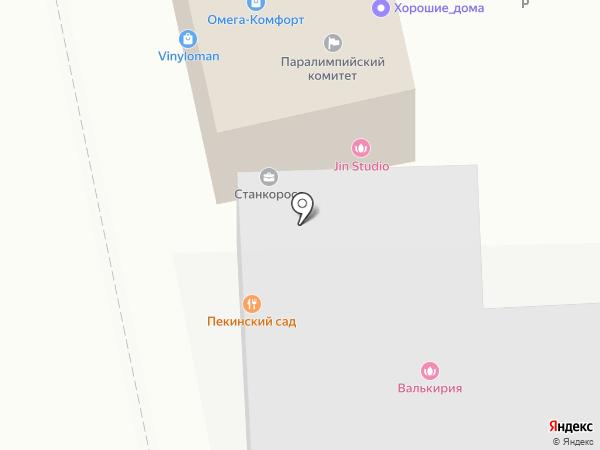 Лада на карте Москвы