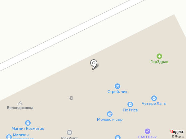 ТК Олимп на карте Москвы
