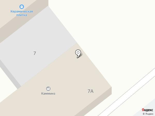 Магазин керамической плитки на карте Новороссийска