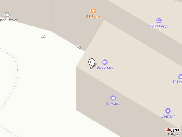 АМК-Электро на карте Москвы