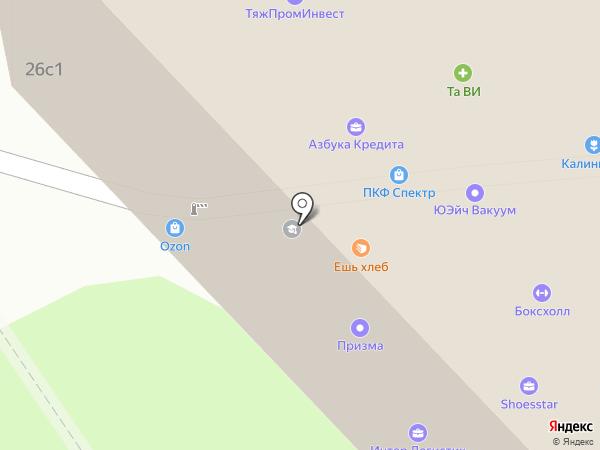 Фреш-бар на карте Москвы