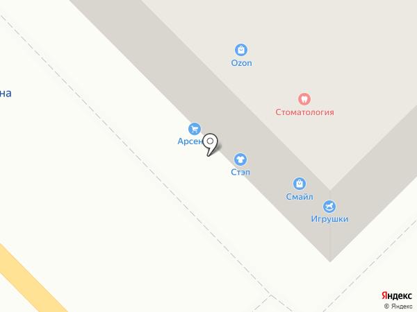 Магазин женского трикотажа на карте Тулы