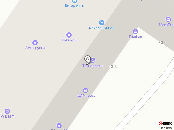 Нитакс на карте Москвы