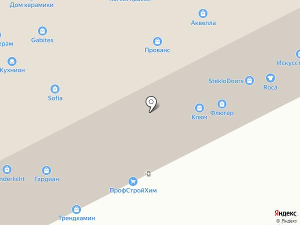 ЦЕРТА на карте Москвы